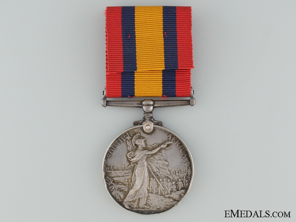 A Queen's South Africa Medal to the 175th Co. Imperial Yeomanry