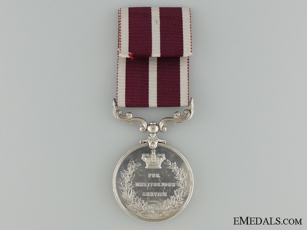 An Army Meritorious Service Medal to the 4th Battery R.F.A.
