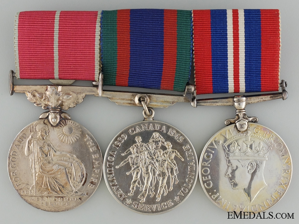 A British Empire Medal Group to the Royal Canadian Air Force