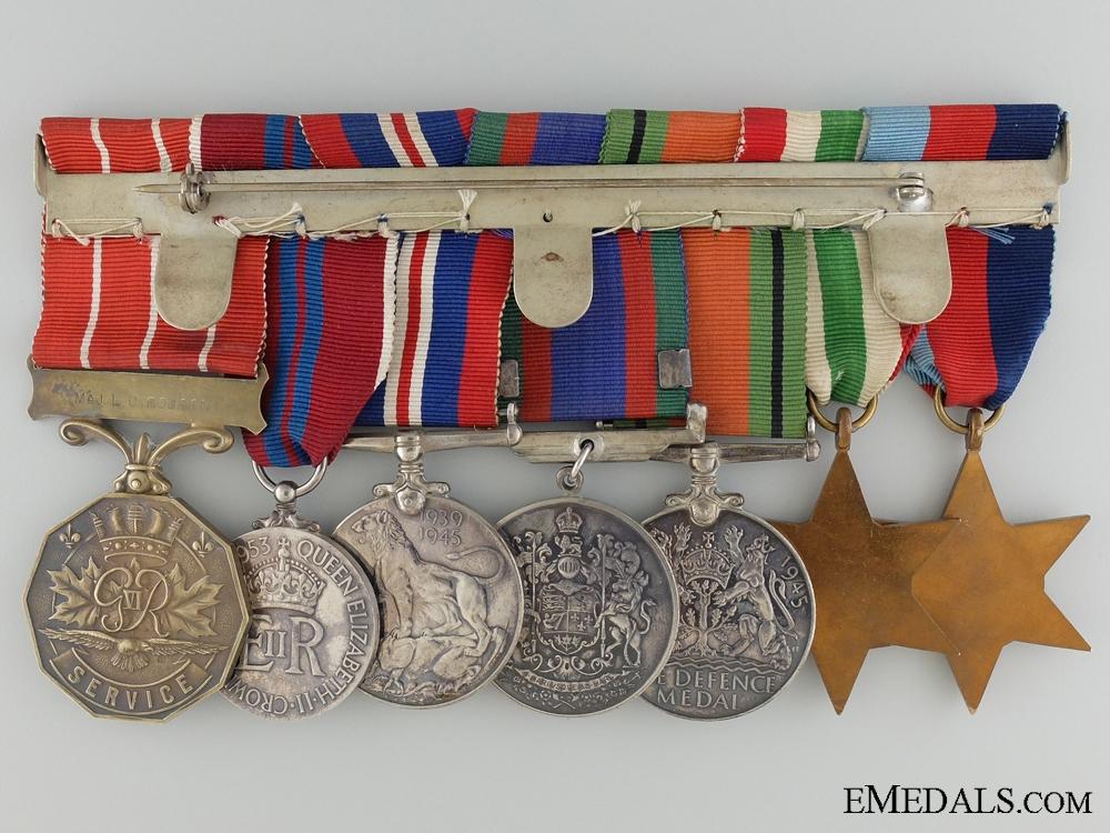 A Canadian Medal Bar to Major L.C. Robson; Royal Winnipeg Rifles