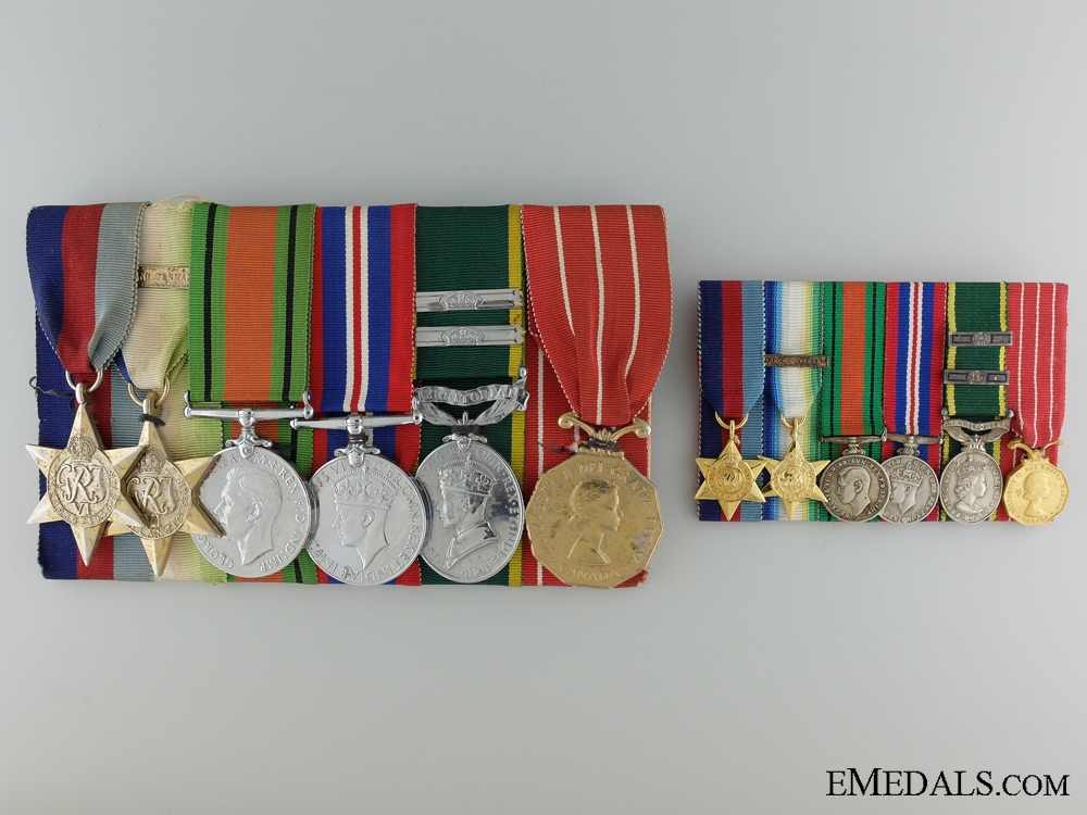 An Efficiency & Canadian Forces Decoration Group to Special Branch