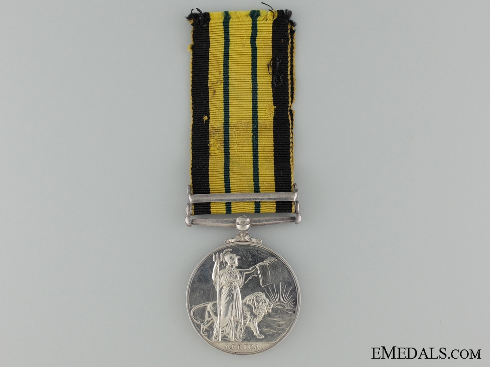 An African General Service Medal to the East Africa Air Wing