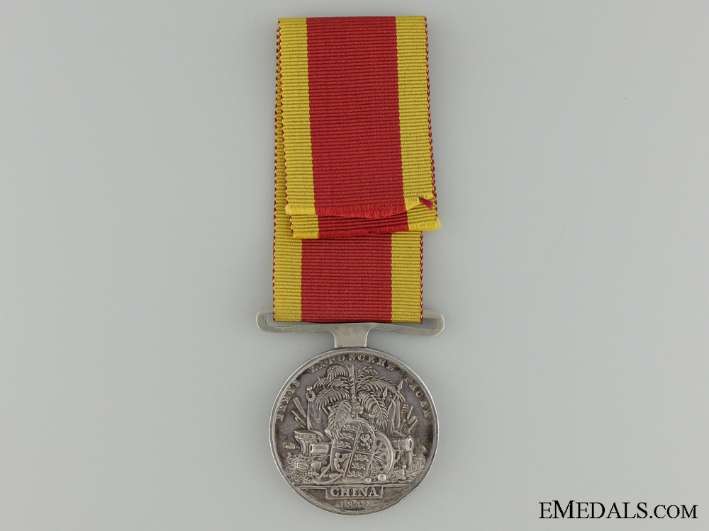 A 1842 China War Medal to the HMS Endymion