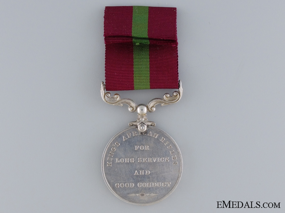King's African Rifles Long Service and Good Conduct Medal