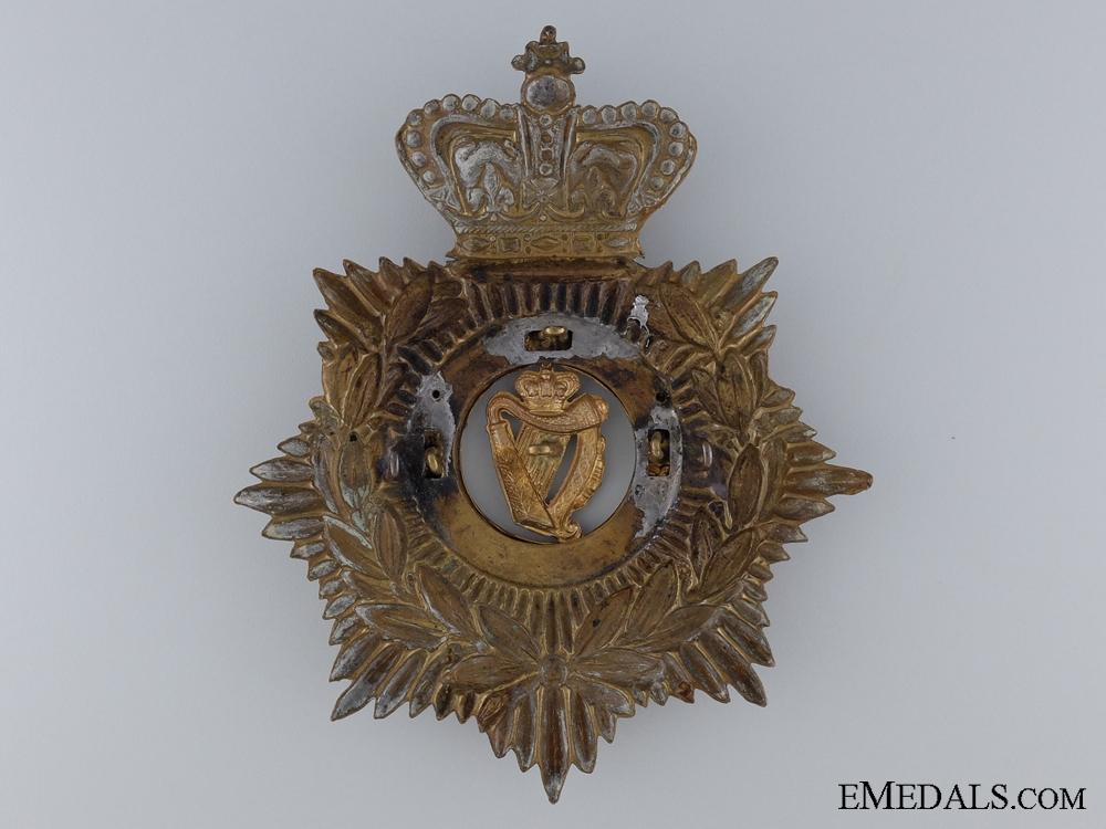 A Royal Irish Regiment Helmet Plate