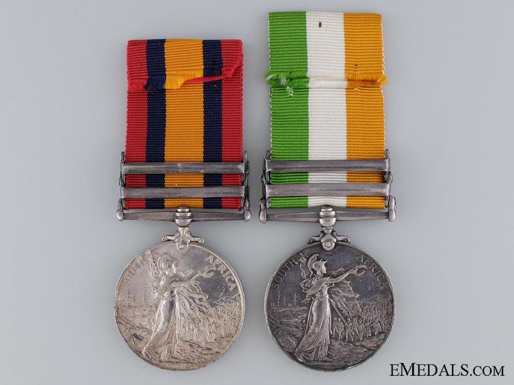 A South African War Pair to the King's Own Royal Regiment
