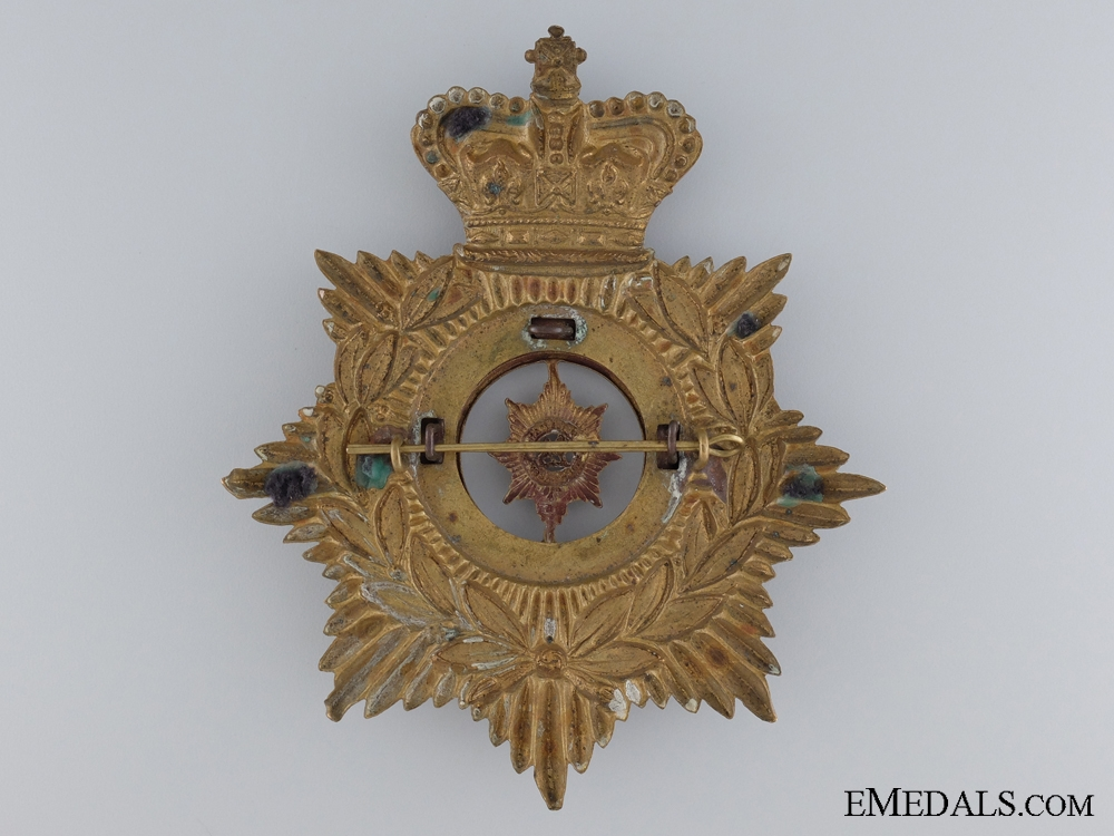 A Victorian Worchestershire Regiment Helmet Plate