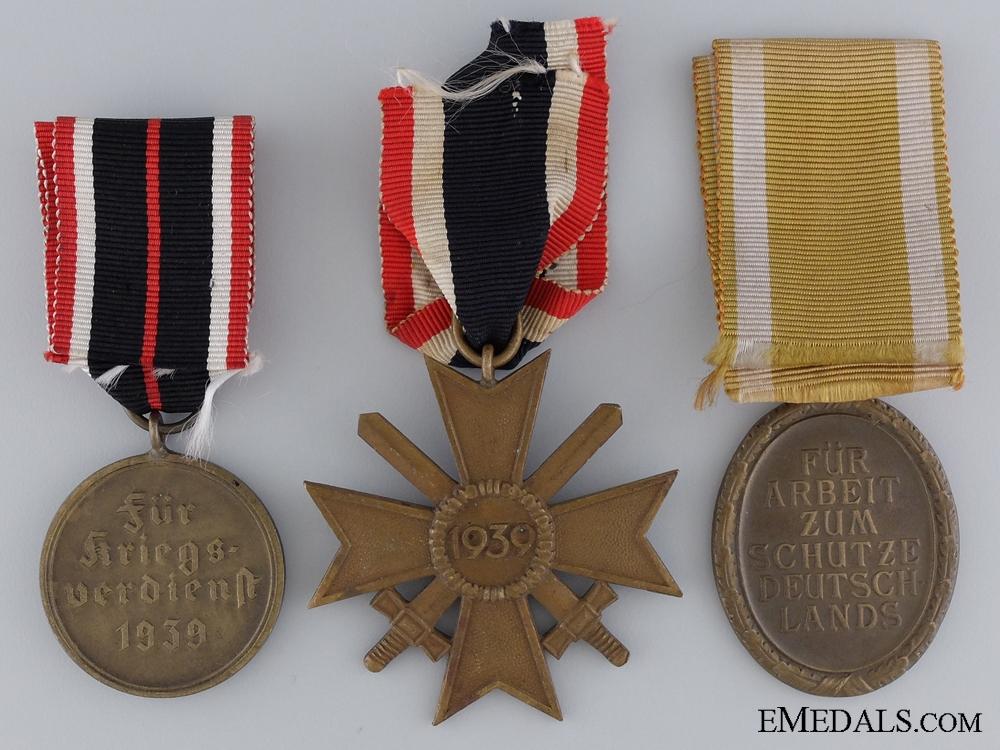 Three WWII German Awards