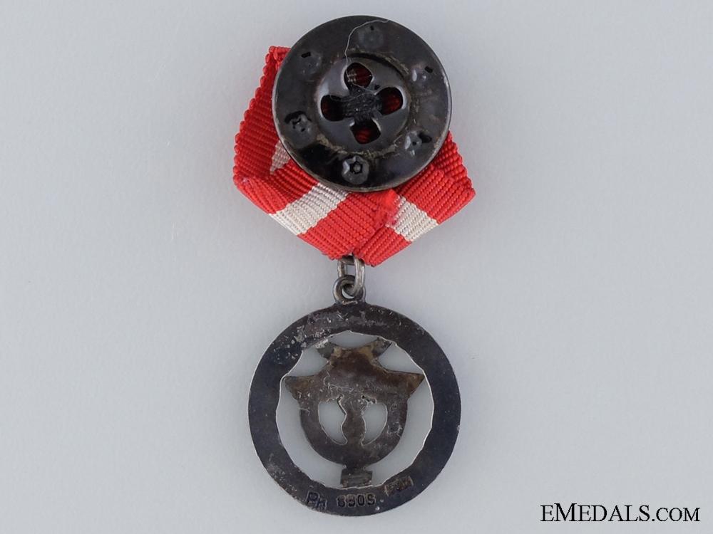 A Danish Red Cross Miniature