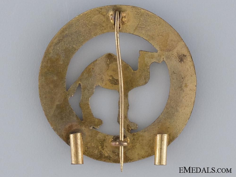 A Spanish Army Sahara Badge