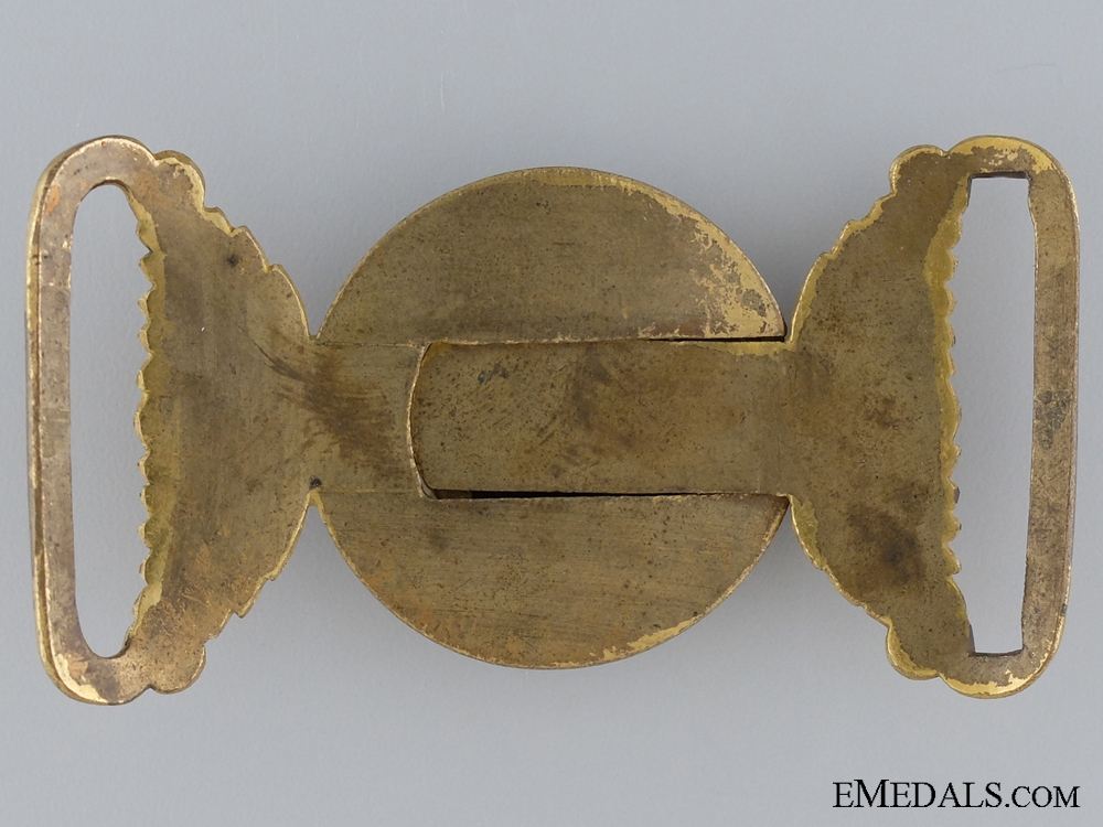 A Victorian General Service Belt Buckle