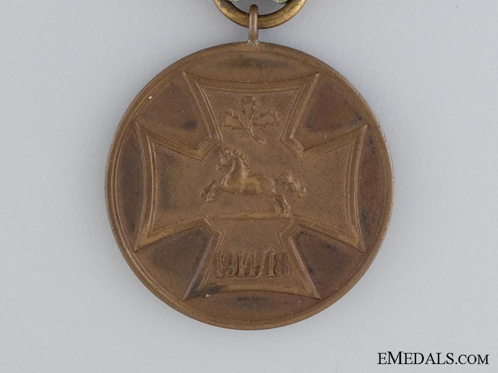 A First War Hanoverian Veterans Service Medal