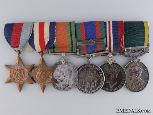 A Second War Efficiency Medal Bar to Major Robert Buell RCIC