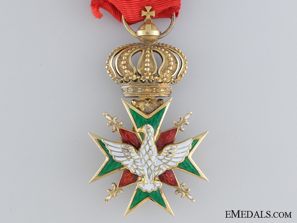 A Gold Order of the White Falcon; First Class