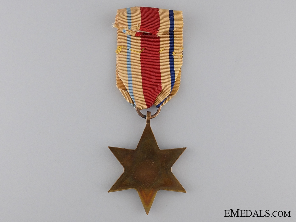 A Second War Africa Star with North Africa Clasp