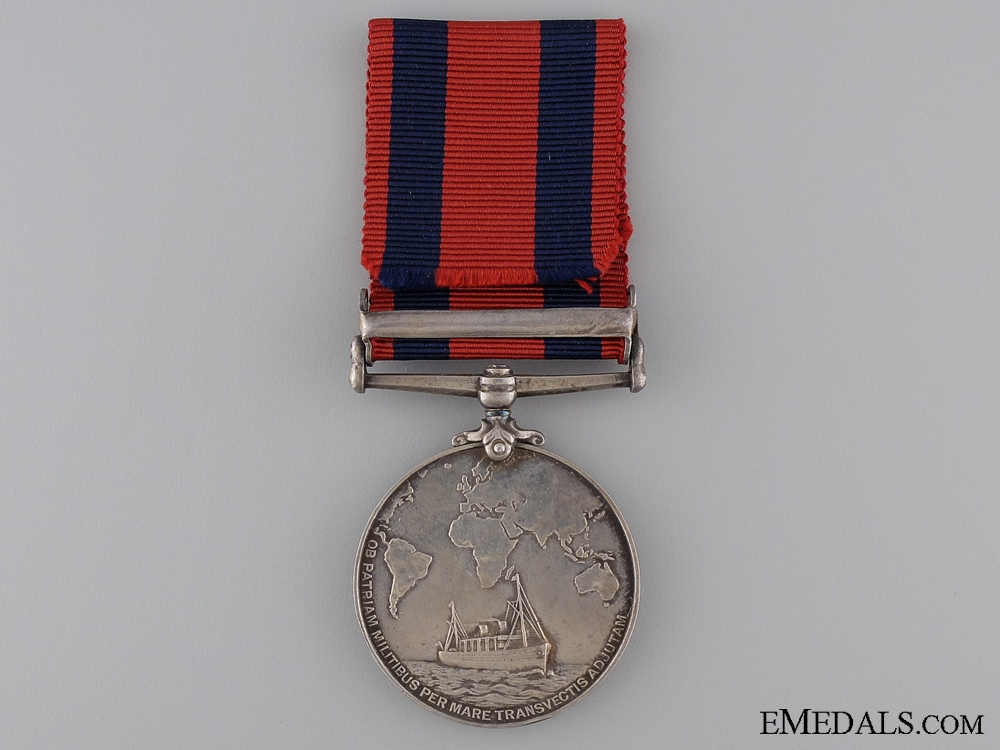 Transport Medal to H.F. Heydon with China 1900 Clasp