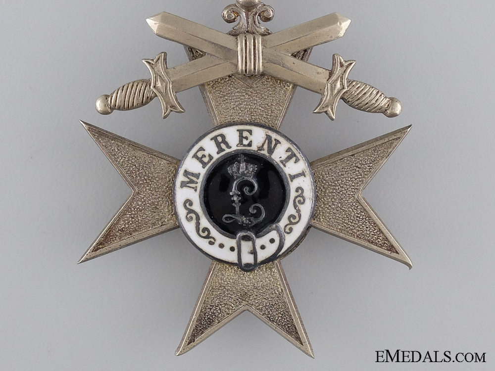 A Bavarian Military Merit Cross 2nd Class with Swords 1913-18
