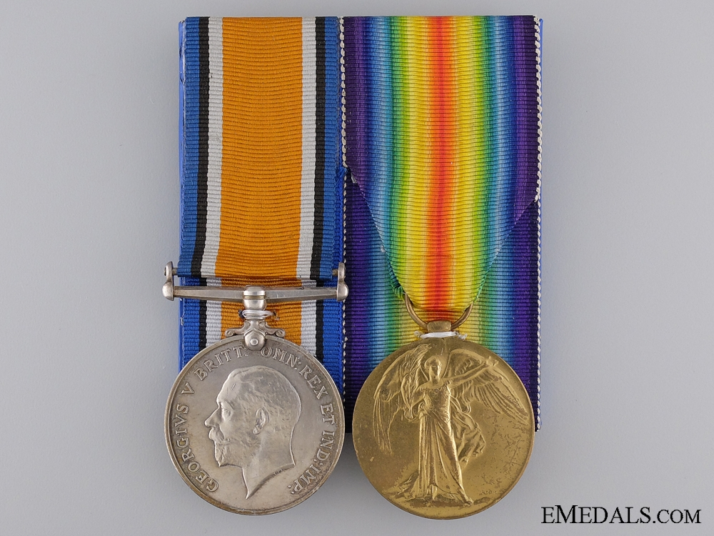 A Second War Medal Pair to the 169th Canadian Infantry Battalion