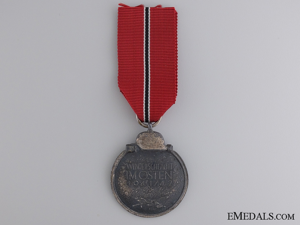 A Second War East Medal 1941/42; Marked 19