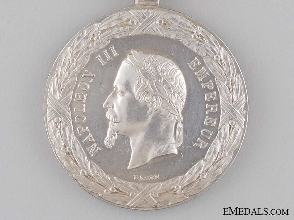 1860 French China Campaign Medal
