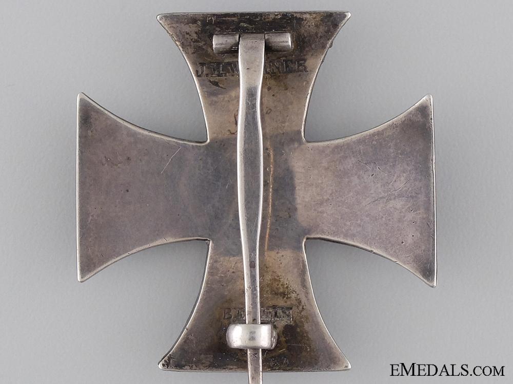 An Iron Cross First Class 1914 by J.W.Werner of Berlin
