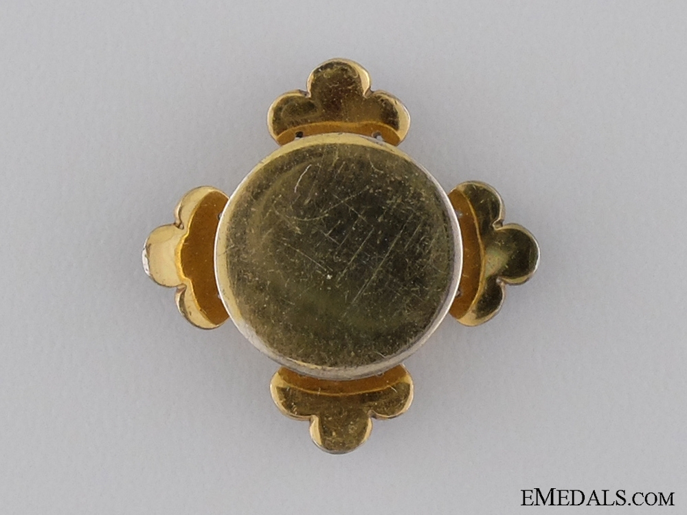 A Miniature Spanish Order of Alphonso