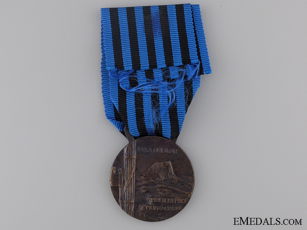 An Italain Campaign Medal for Operations in East Africa