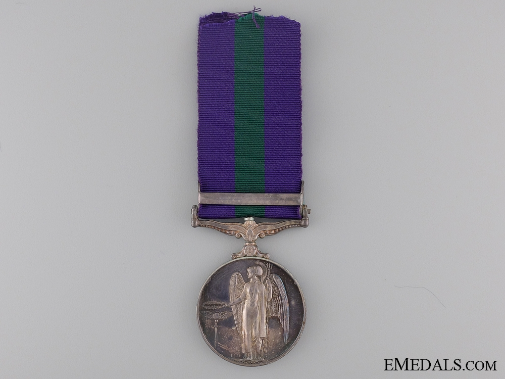 1918-62 General Service Medal to the Sarawak Police