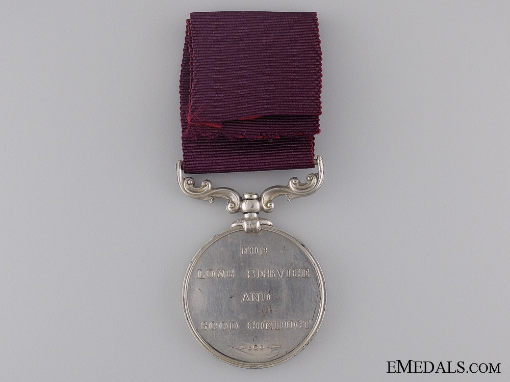 Army Long Service & Good Conduct Medal to the 7th Hussars