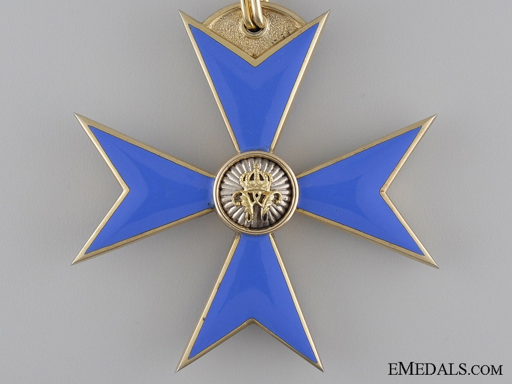 Brunswick (Braunschweig), Order of Henry the Lion; First Class Cross by  HERM. JÜRGENS HOF. JUWELIER