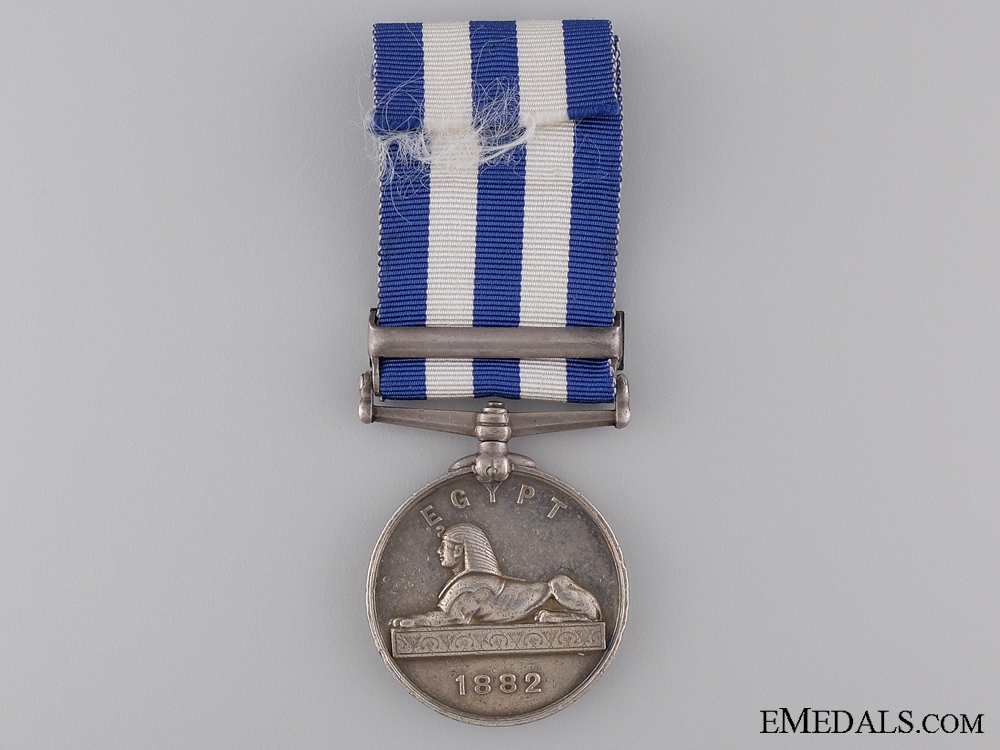1882 Egypt Medal to the York & Lancashire Regiment