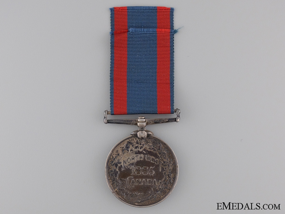 1885 North West Canada Medal; Unnamed