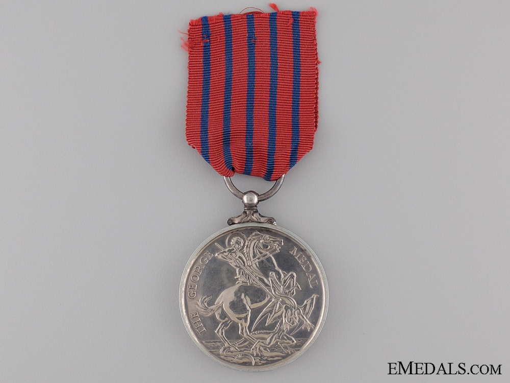 A Specimen George Medal; Second Issue