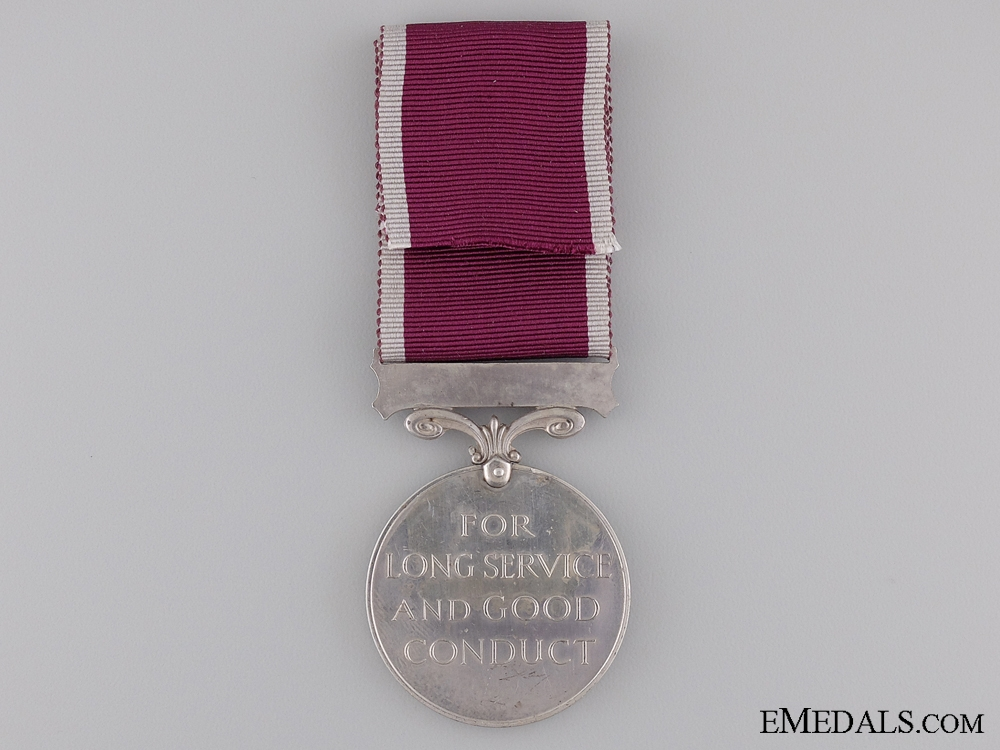 Army Long Service & Good Conduct Medal to the Tank Corps