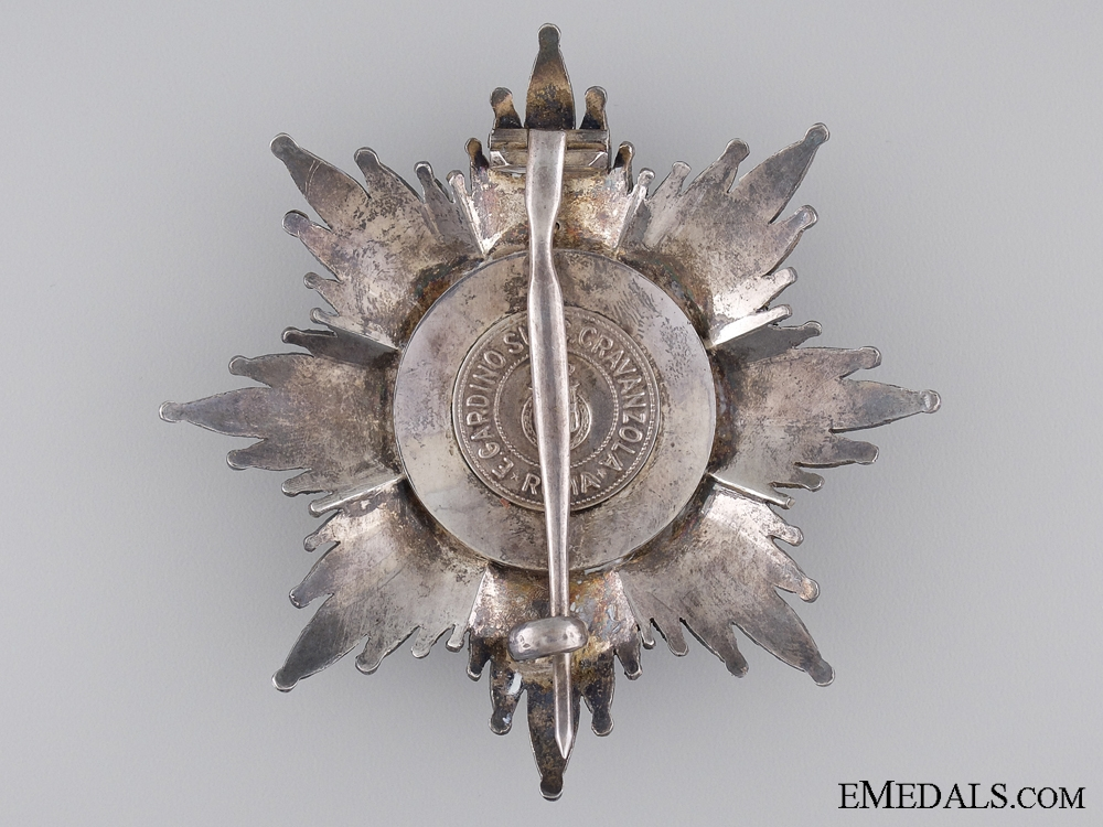 An Italian Order of the Crown; Grand Cross Star