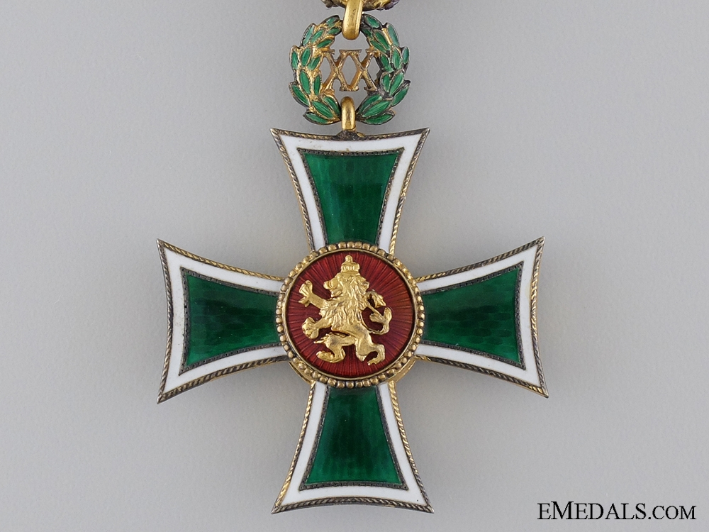 Bulgaria, Kingdom. A Long Service Cross, 20 Years Service, c.1940