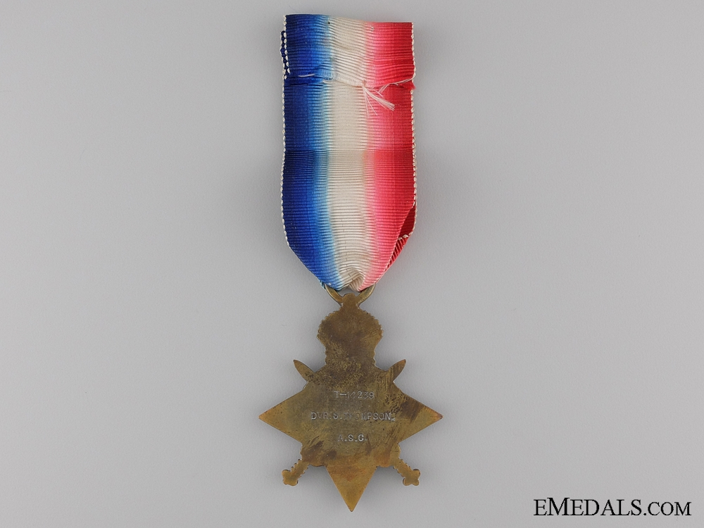 1914 Mons Star to the 22nd Battery R.F.A.