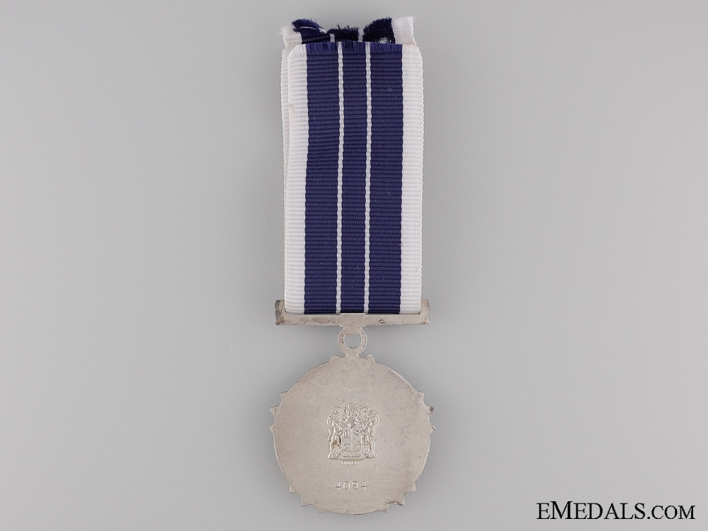 A 1975 South African Southern Cross Medal; Numbered