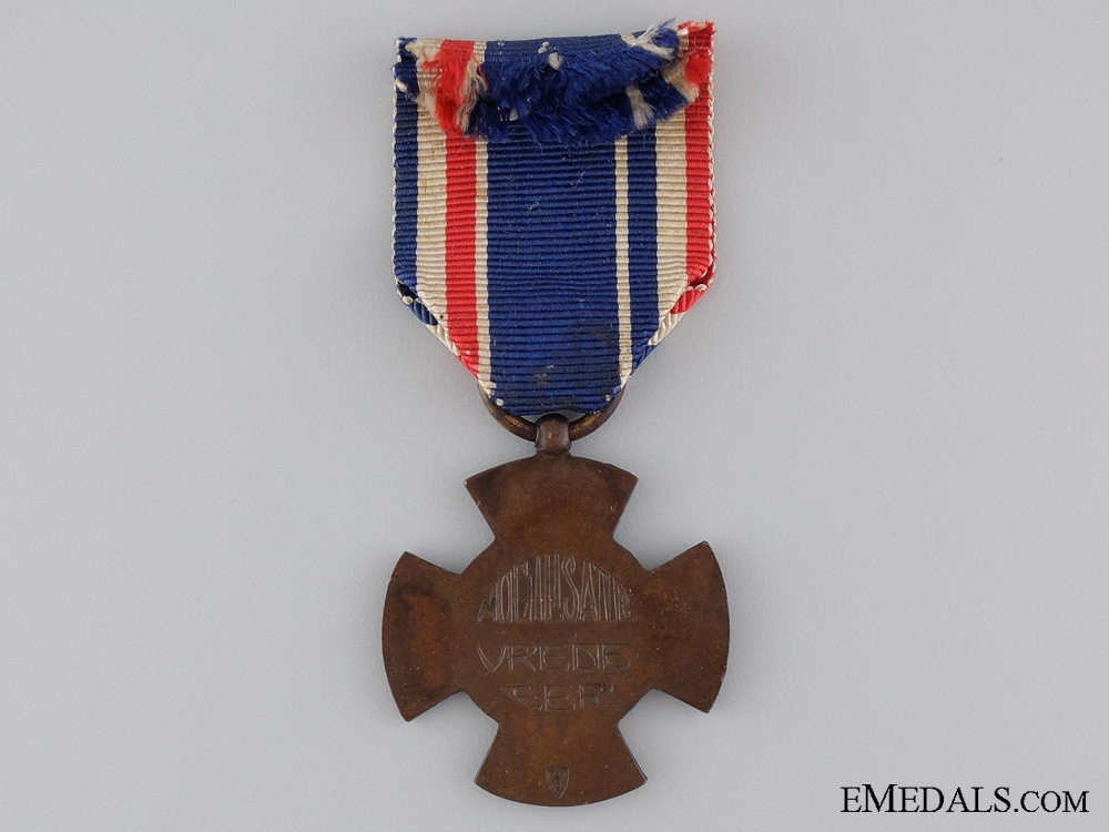 A Dutch Mobilization Cross 1914-1918