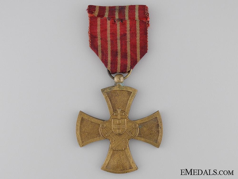 A Portuguese War Cross 1st Class; Colonial Period