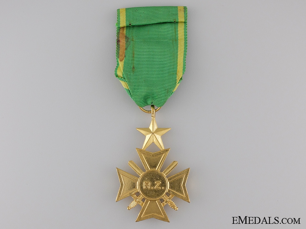 The Military Cross of Zaire; Officer