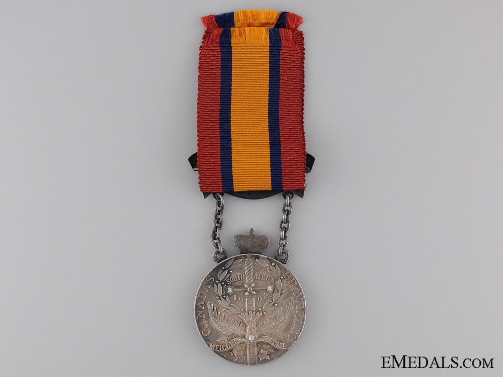 A Toronto 1902 South African War Welcome Medal by P.W. Ellis