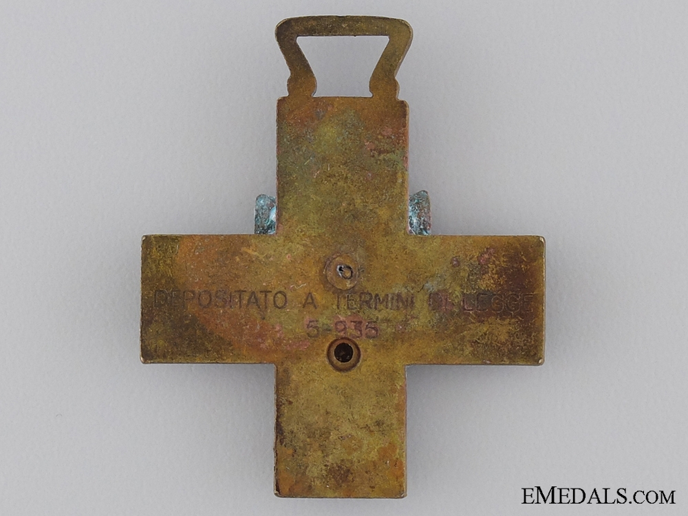 An Italian Volunteers Littorio Division Commemorative Cross