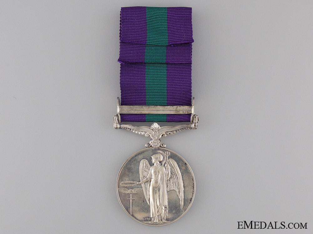 1962 General Service Medal to the Cameronians