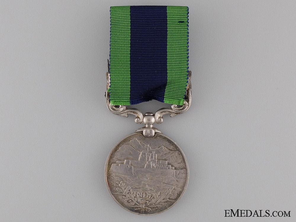 India General Service Medal to the Norfolk Regiment