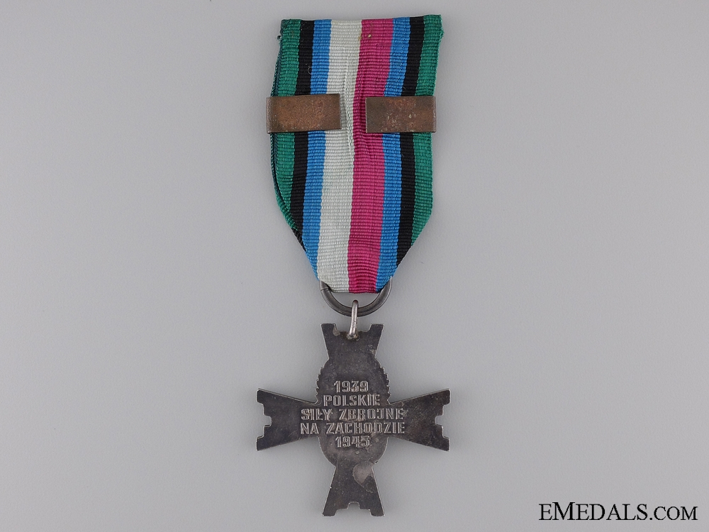 A Polish Military Cross of the Armed Forces in the West 1939-1945