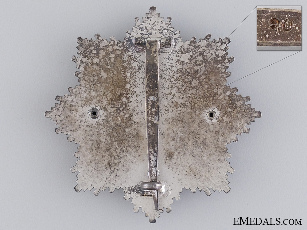 A Scarce German Cross in Silver by Zimmermann
