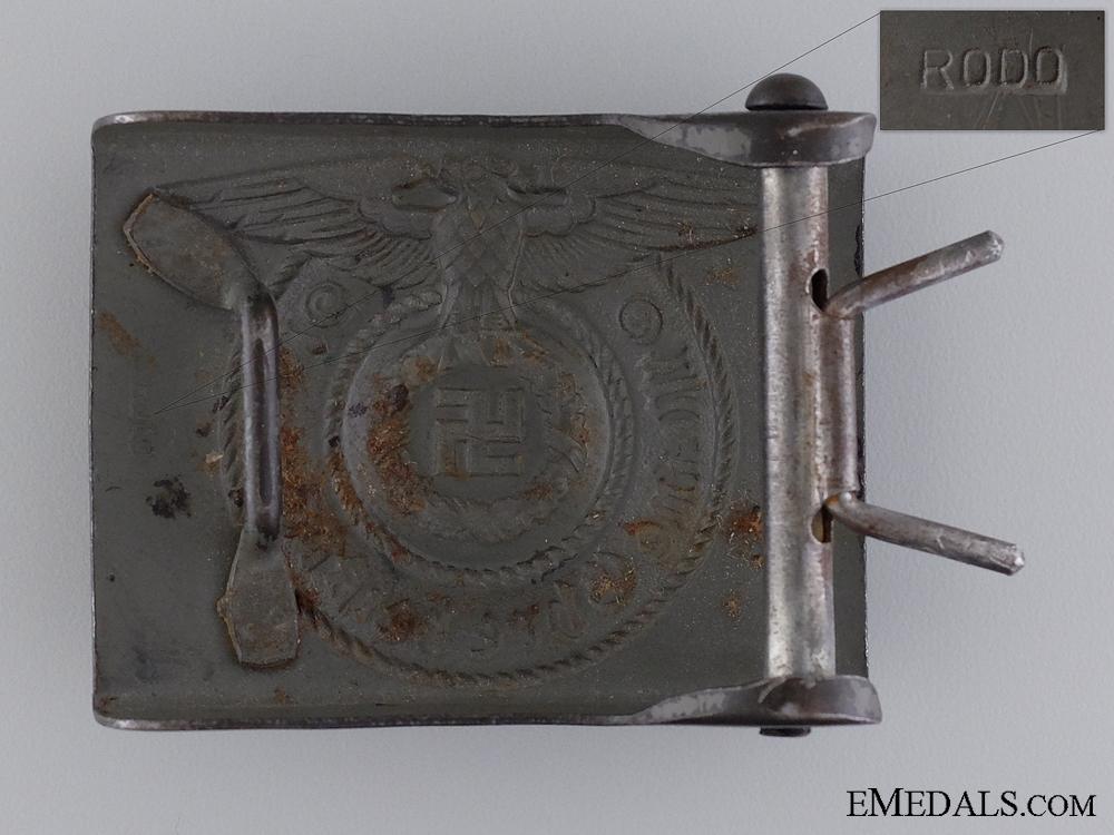 Waffen SS EM/NCO's Steel Belt Buckle by RODO