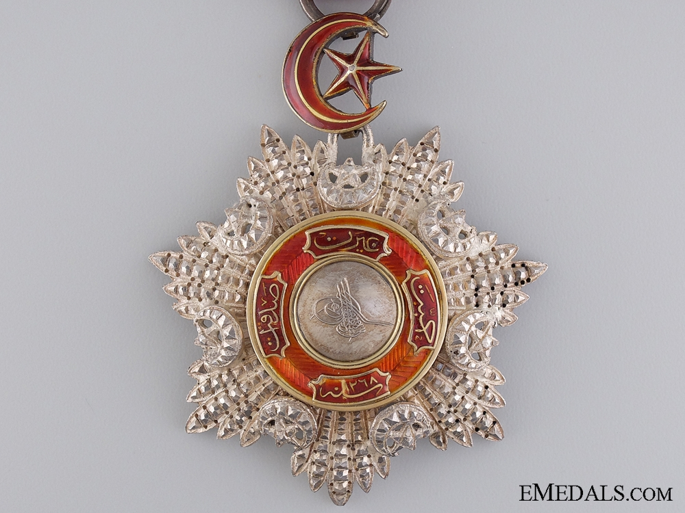 An Fine Turkish Order of the Mejidie in Silver & Gold