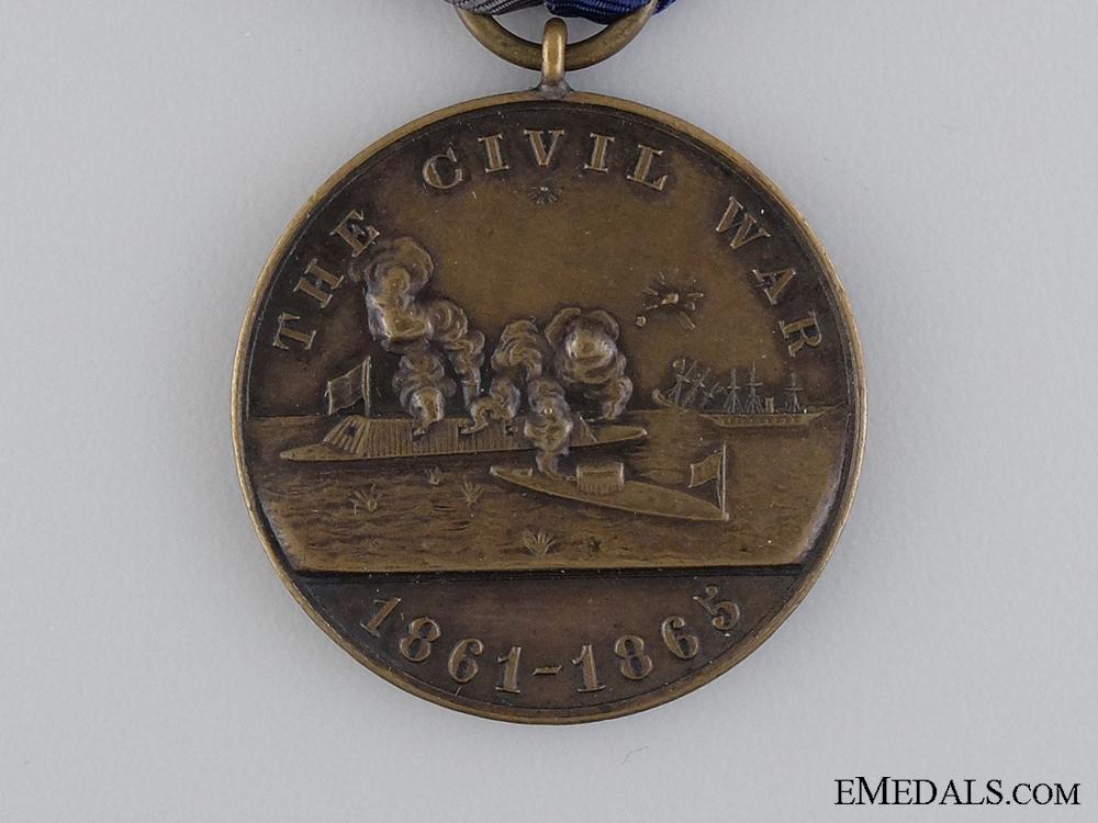 An American Civil War Naval Campaign Medal